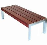 Modern Outdoor Etra Large Bench