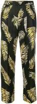 Forte Forte leaf print trousers