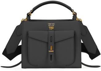 Tom Ford T Twist Mini Rialto Grain Top-Handle Bag
