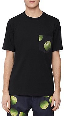 Paul Smith Gents 50th Anniversary Apple Graphic Tee Shirt