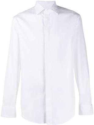 Emporio Armani Modern-fit pointed collar shirt