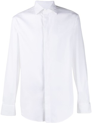 Emporio Armani Modern-fit pointed collar shirt