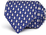 Salvatore Ferragamo Lion Neat Classic Tie