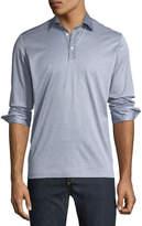 Culturata Men's Premium Italian Long-Sleeve Polo Shirt