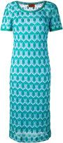 Missoni crochet knit dress - women - Silk/Polyester/Spandex/Elastane/Rayon - 42