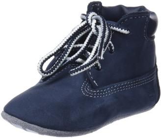 Timberland Crib Bootie with Hat Unisex Baby's Birth Shoes Boot Yellow (Wheat) 1.5 UK Child UK (17 EU)
