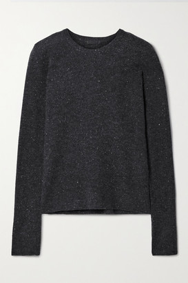 ATM Anthony Thomas Melillo Donegal Cashmere Sweater - Charcoal
