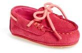 Cole Haan Infant Girl's 'Grant' Suede Loafer