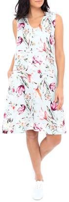Jump Tie Back Floral Dress
