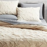 CB2 Melyssa Natural Full/Queen Duvet Cover
