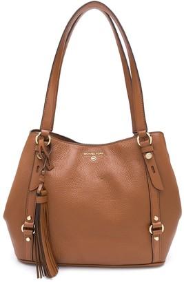 MICHAEL Michael Kors Carrie large pebble leather bag