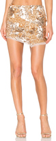 Aje Jaws Sequin Mini Skirt