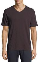 Vince Slub Pima Cotton V-Neck T-Shirt