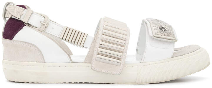 Toga metallic touch strap sandals