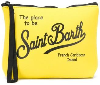 MC2 Saint Barth Logo-Print Wash Bag