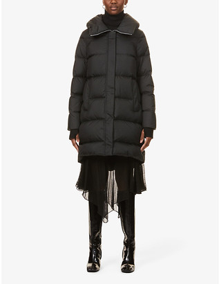 Moose Knuckles Stardew hooded shell-down puffer coat