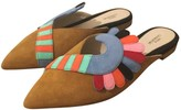 Paula Cademartori Multicolour Suede Sandals