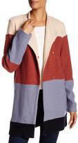 Cullen Wool Blend Colorblock Coat