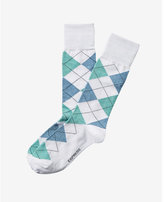 Express argyle dress socks
