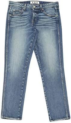 Amo Blue Cotton - elasthane Jeans for Women