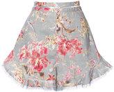 Zimmermann floral print shorts - women - Cotton/Linen/Flax - 3