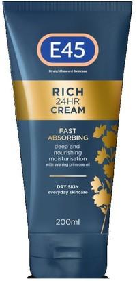 E45 Rich 24Hr Cream 200Ml
