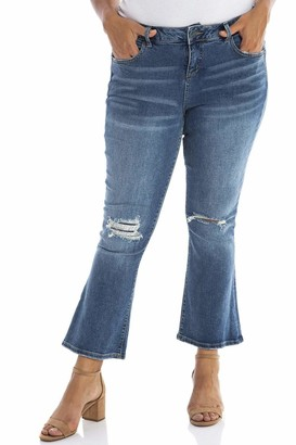 SLINK Jeans High Rise Denim Bootcut Pants in Erica Size 18