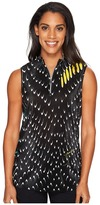 Jamie Sadock - Crunchy Habu Print Sleeveless Top Women's Sleeveless