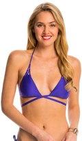 Ella Moss Stella Solid Triangle Wrap Bikini Top 8143106