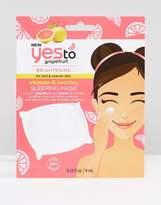 YES TO Yes To Grapefruit Brightening Vitamin C Glow Boosting Sleeping Mask