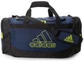adidas Navy & Black Defense Medium Duffel Bag