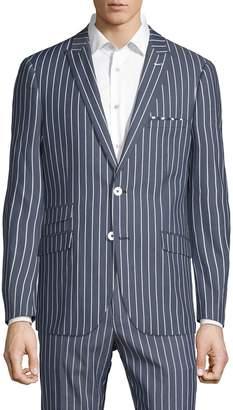 Paisley & Gray Stripe Sport Jacket