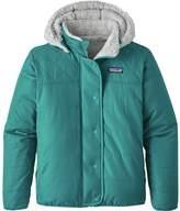Patagonia Reversible Dream Song Hooded Down Jacket -Girls'