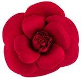 Chanel Camellia Flower Brooch