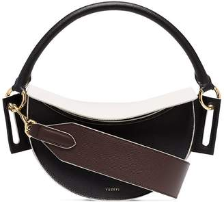 Yuzefi Dip dual-tone shoulder bag