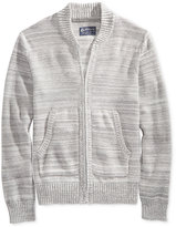 American Rag Men's Full-Zip Mock-Collar Sweater Bomber, Only at Macy's