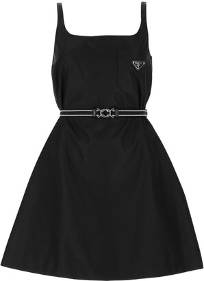 Prada Re-Nylon Gabardine Sleeveless Dress