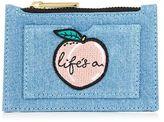 Skinnydip **life's a peach coin purse