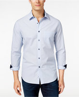 Tasso Elba Men's Pattern Long-Sleeve Shirt, Only at Macy's