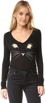 Wildfox Couture Meow Bodysuit