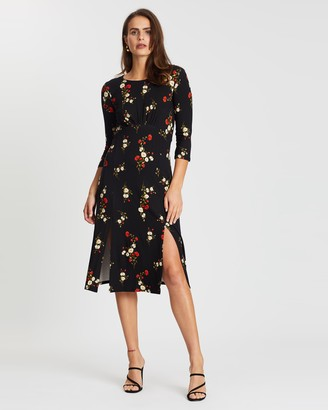 Dorothy Perkins Floral Empire Midi Dress
