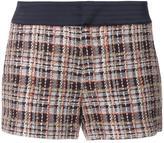 Loveless - plaid tweed shorts - women - Cotton - 34