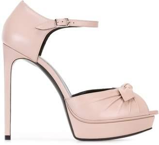 Saint Laurent Jane bow sandals
