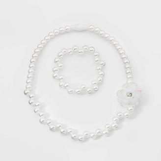 Cat & Jack Toddler Girls' Bead Necklace and Bracelet Set - Cat & JackTM