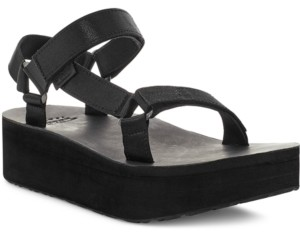 Teva Women's Flatform Universal Satin Sandals Women's Shoes