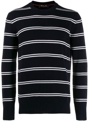 Loro Piana striped sweatshirt