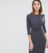 Whistles Ferrie Twist Front Dress (Exclusive