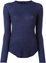 Joseph round neck slim-fit jumper - women - Cotton/Cashmere - XS