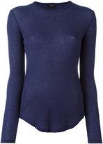 Joseph round neck slim-fit jumper