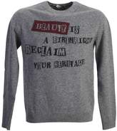 Valentino Jamie Raid Wool Cashmere Sweater